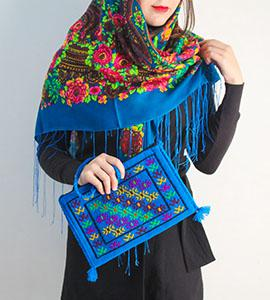 کیف دستبافت ترکمن